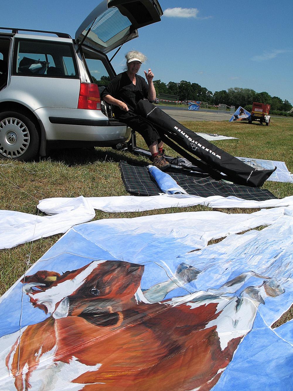 Drachten_Vliegerfestival_jeltje met koeien