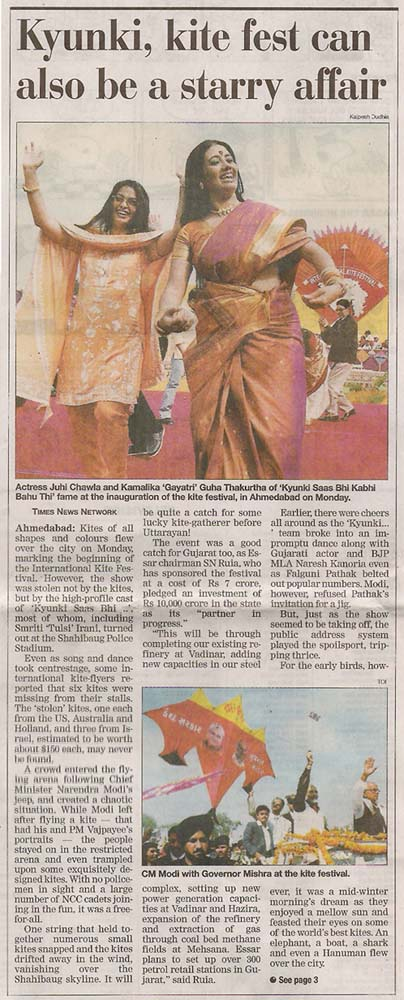 the times of India 13-01-04 3