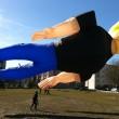 Johnny Bravo mega kite in Amsterdam